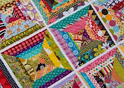 I love string quilts!!