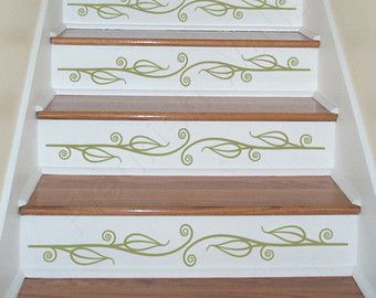 Vinyl Stair Decals For Staircase Riser Decor Decorative