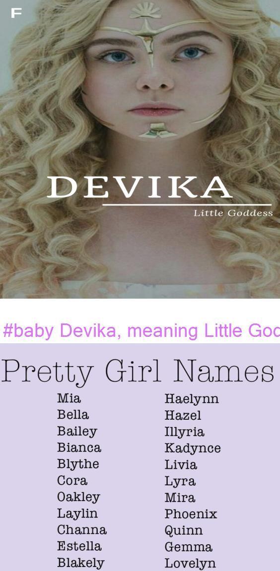 #baby Devika meaning Little Goddess Sanskrit names D ...