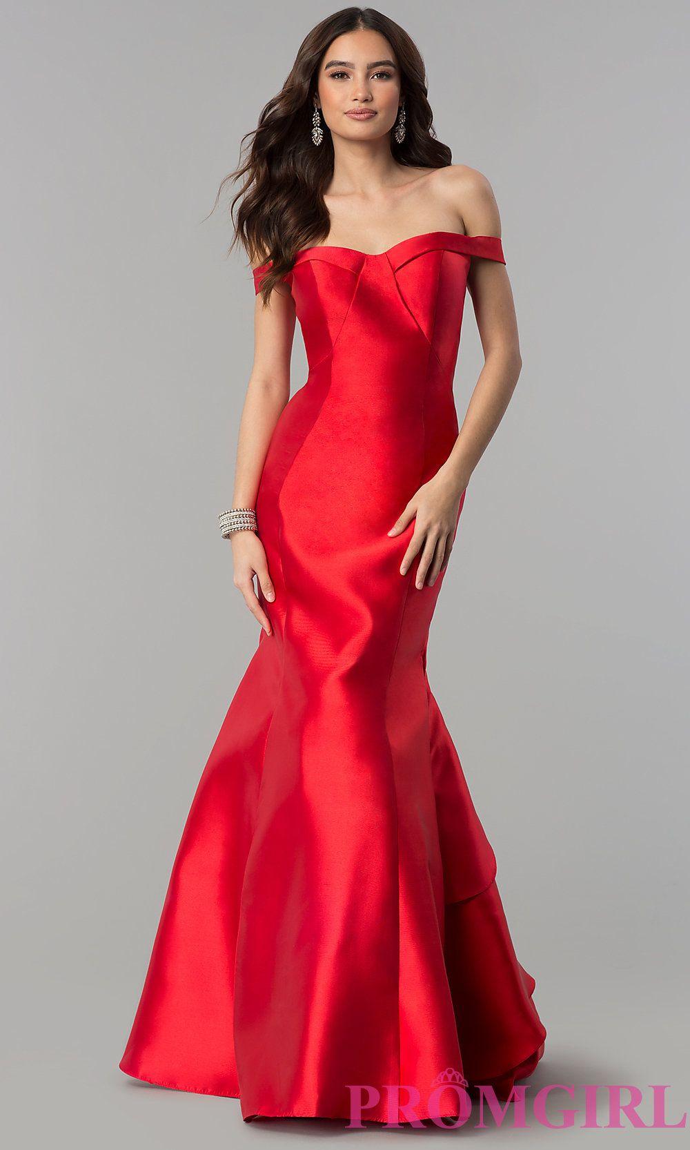 Off The Shoulder Long Prom Dress Dresses Prom Dresses Satin Prom Dress [ 1666 x 1000 Pixel ]