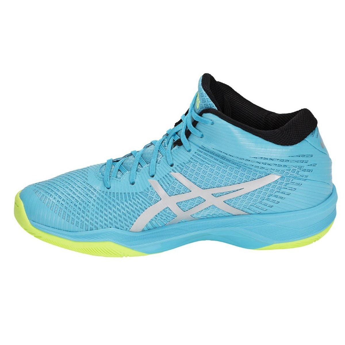 Volleyball Shoes Asics Gel Volley Elite Ff Mt M B750n 400 Blue Multicolored Volleyball Shoes Mens Volleyball Shoes Asics