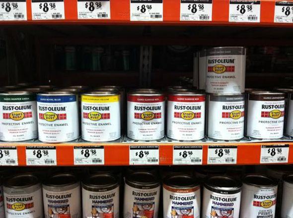 Basic Colors Diy Rustoleum Paint Enamel Spray Paint