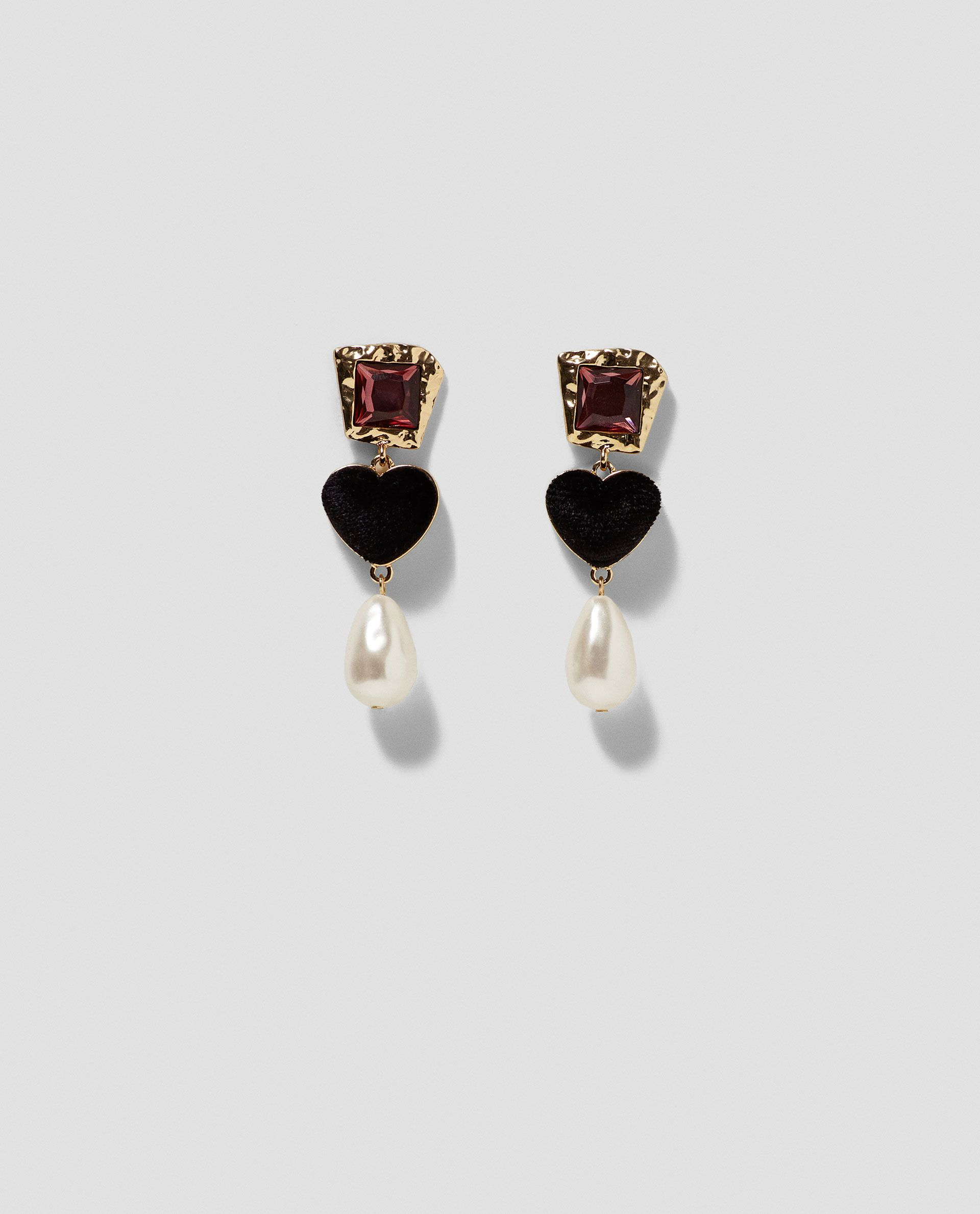 earrings crystal and graduated icing us faux stud pearl
