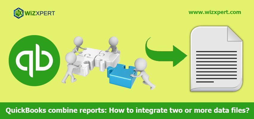 Combine QuickBooks reports is a way to merge reports of multiple