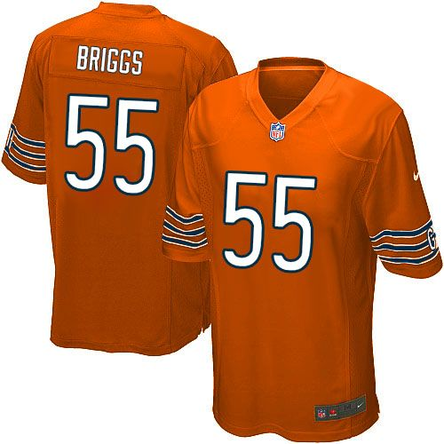 1940s throwback nike nfl navy nike chicago bears lance briggs limited jersey youth orange 55 alterna
