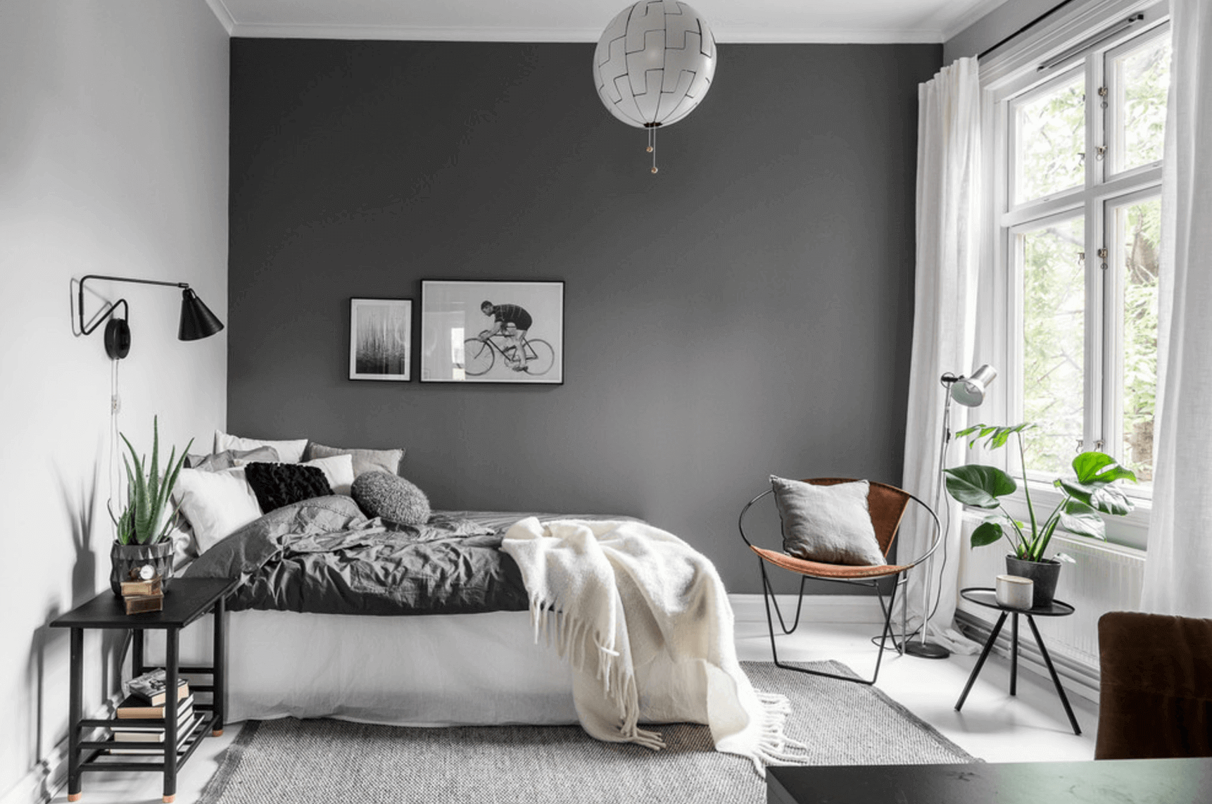 Bedroom Transformation With Wall Painting Ideas For Bedroom Grey