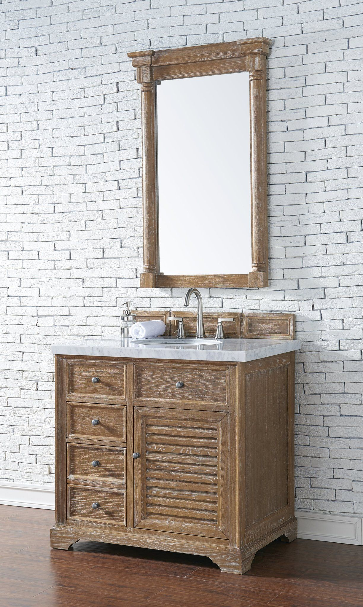 "Savannah 36"" Single Bathroom Vanity in 2020 Single"