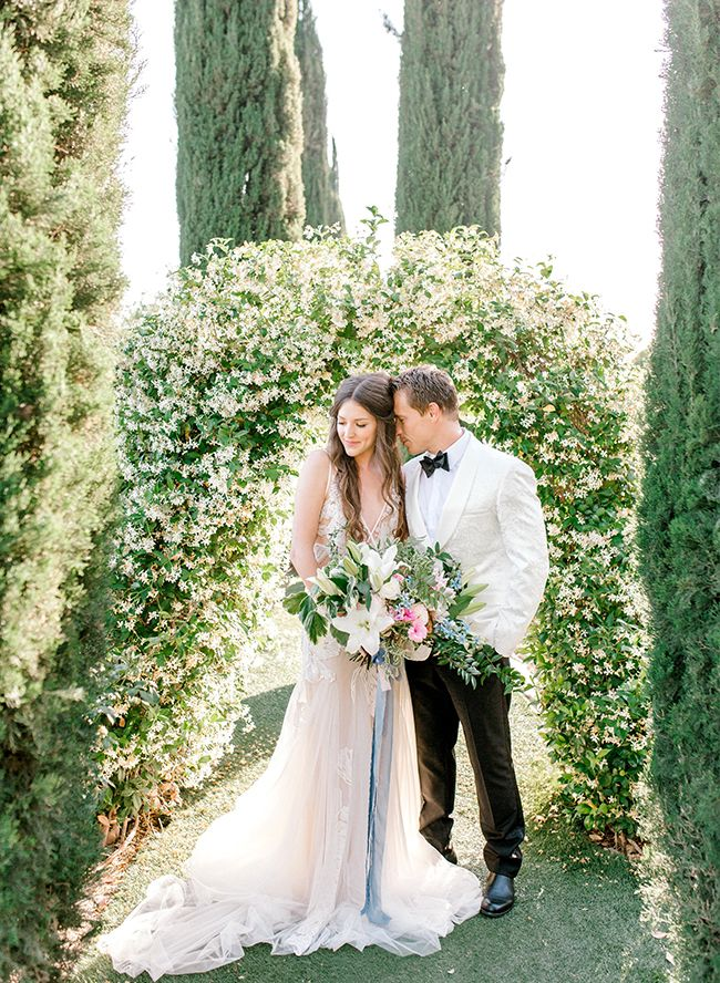 Winery Garden Wedding Inspiration