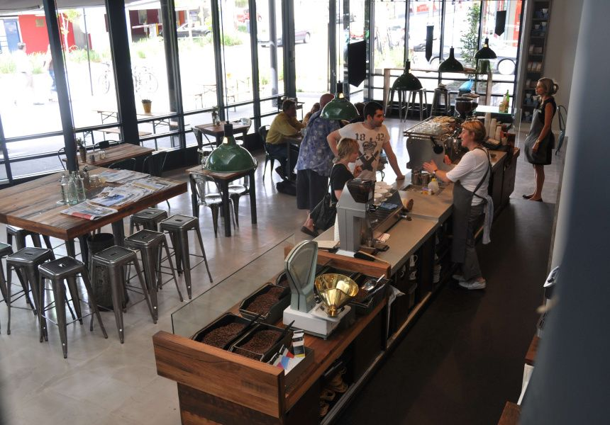 Market Lane Coffee Prahran Market   Cool cafe, Cafe ...