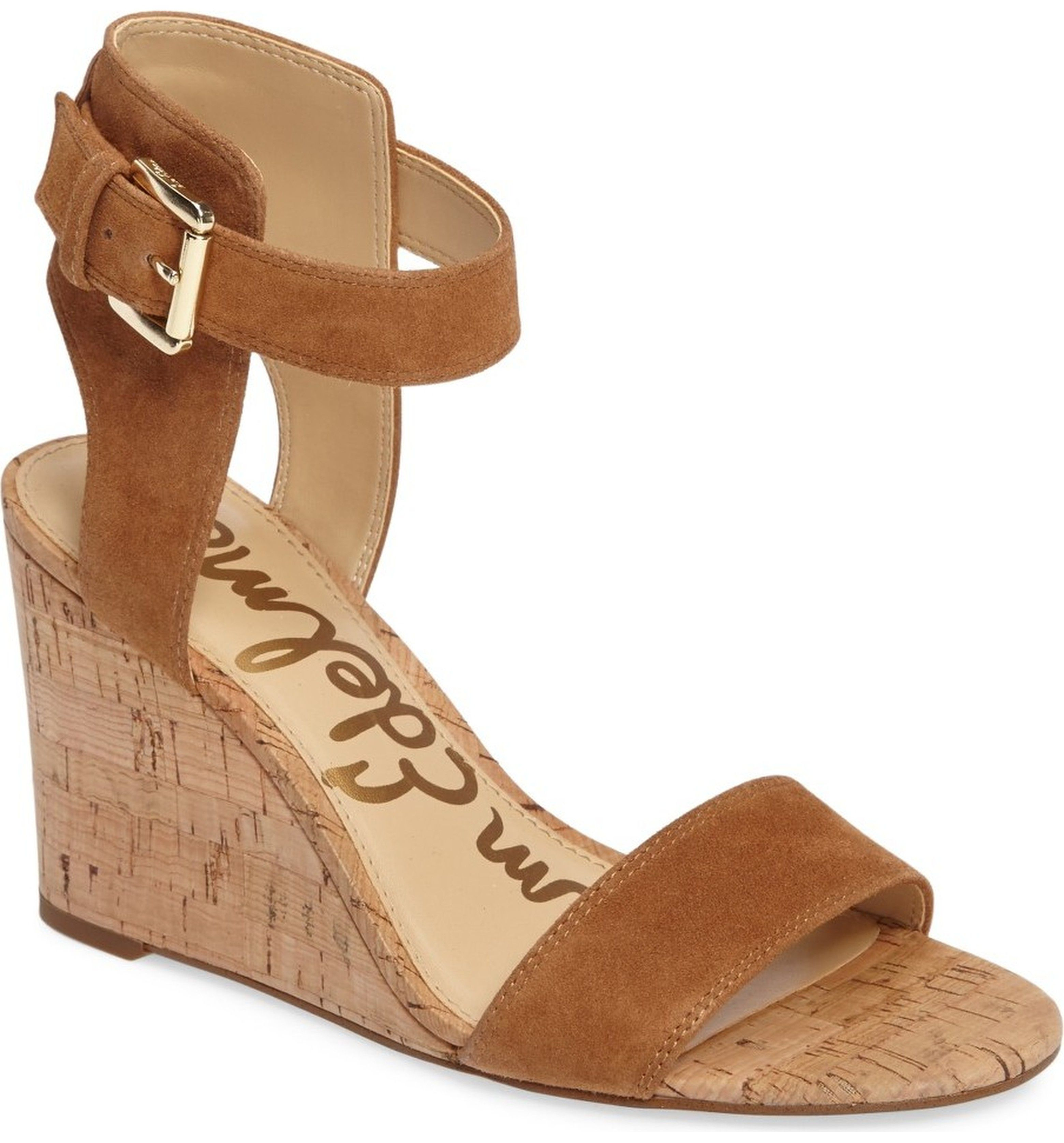 Main Image Sam Edelman Willow Strappy Wedge Sandal