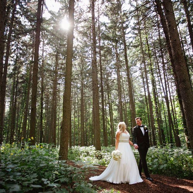 Outdoor Wedding Illinois: A Morton Arboretum Wedding In Lisle, Illinois