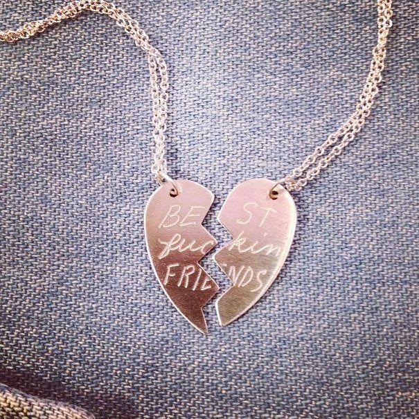Pin by Ren D on MaeStyle | Best friend necklaces, Friend ...