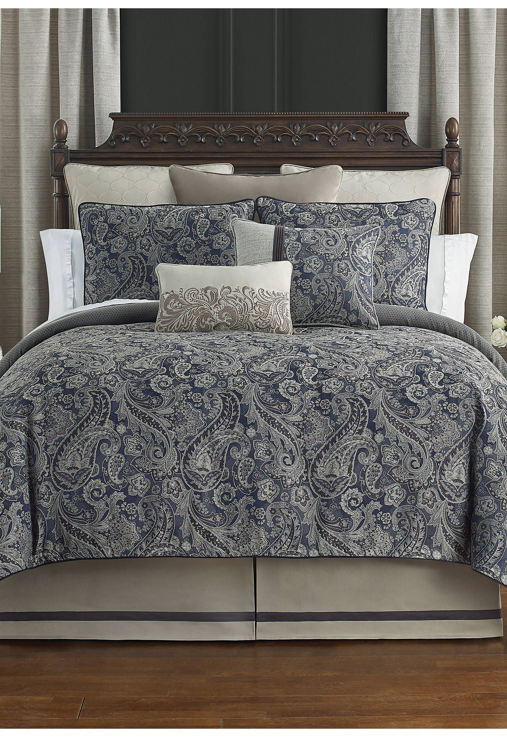 4 Piece Danehill Reversible Comforter Set in 2020