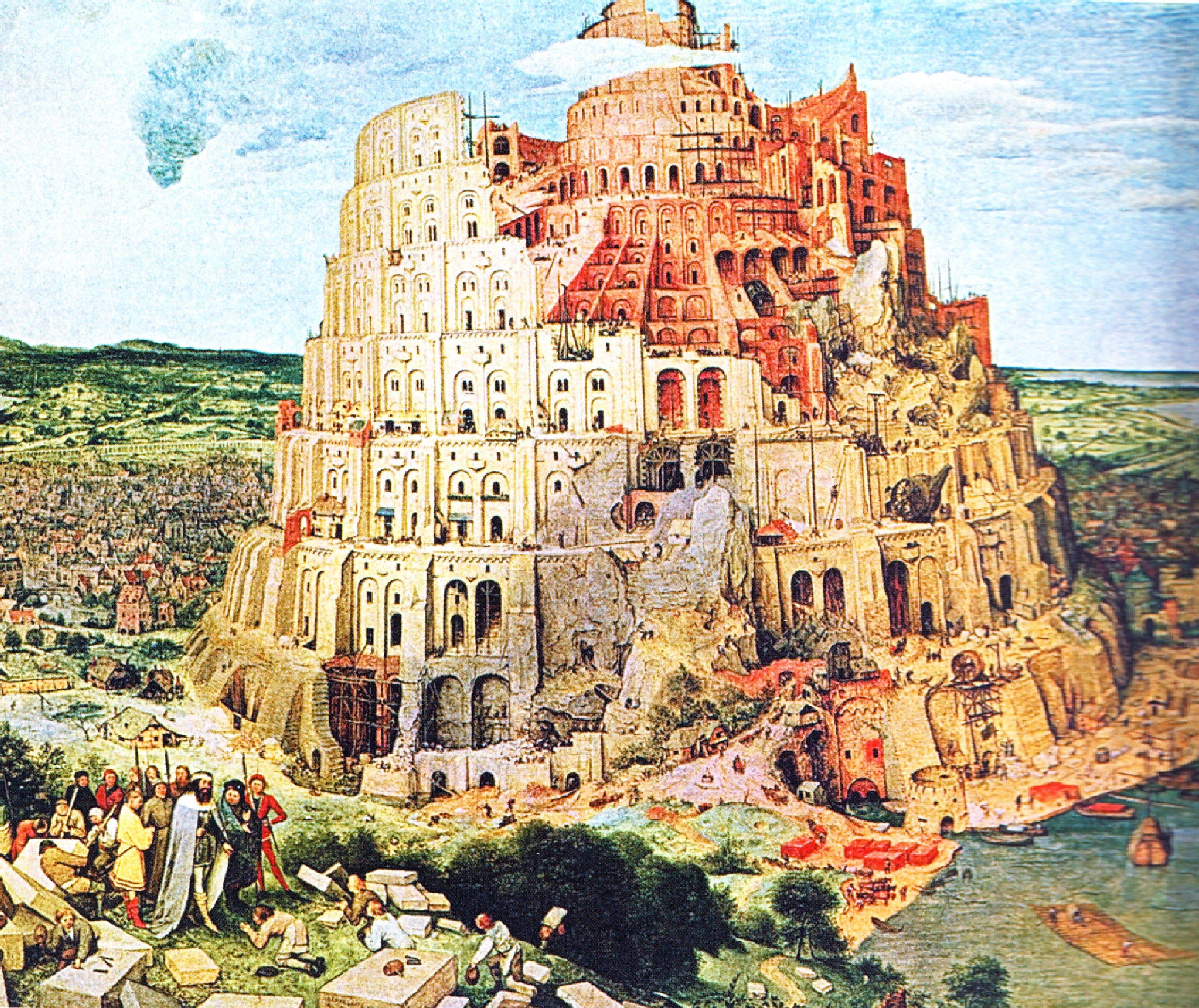 The Tower of Babel, Pieter Bruegel the Elder 1563 ...