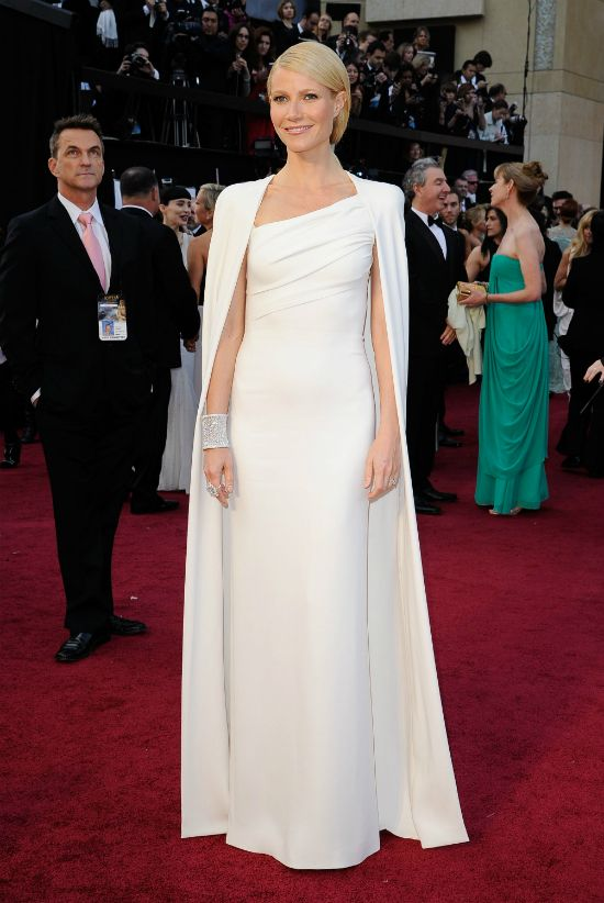 Gwyneth Paltrow in Tom Ford. Red Carpet winner without a doubt.