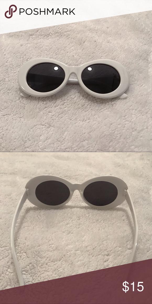 5ff9122b02 White Clout Goggle Sunglasses Brand new