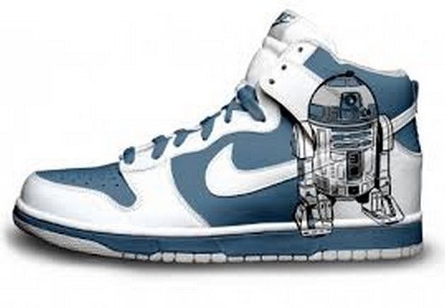 basket nike star wars