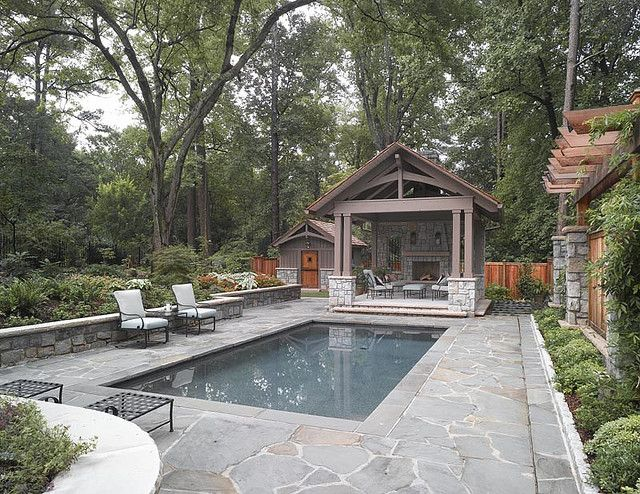 Backyard Ideas With Pool And Outdoor Kitchen