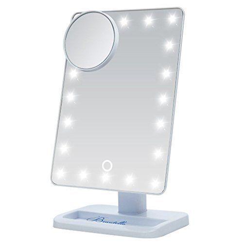 Led Vanity Light Makeup Mirror Portable Movable 10x