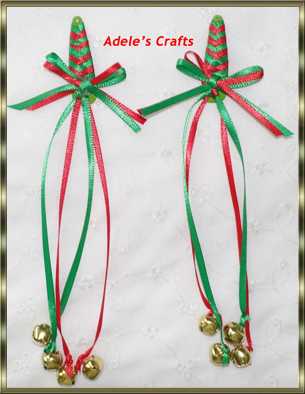 Ribbon Braided Hair Clips Bows Diy Ribbon Christmas Hair Bows Hair Clips Diy