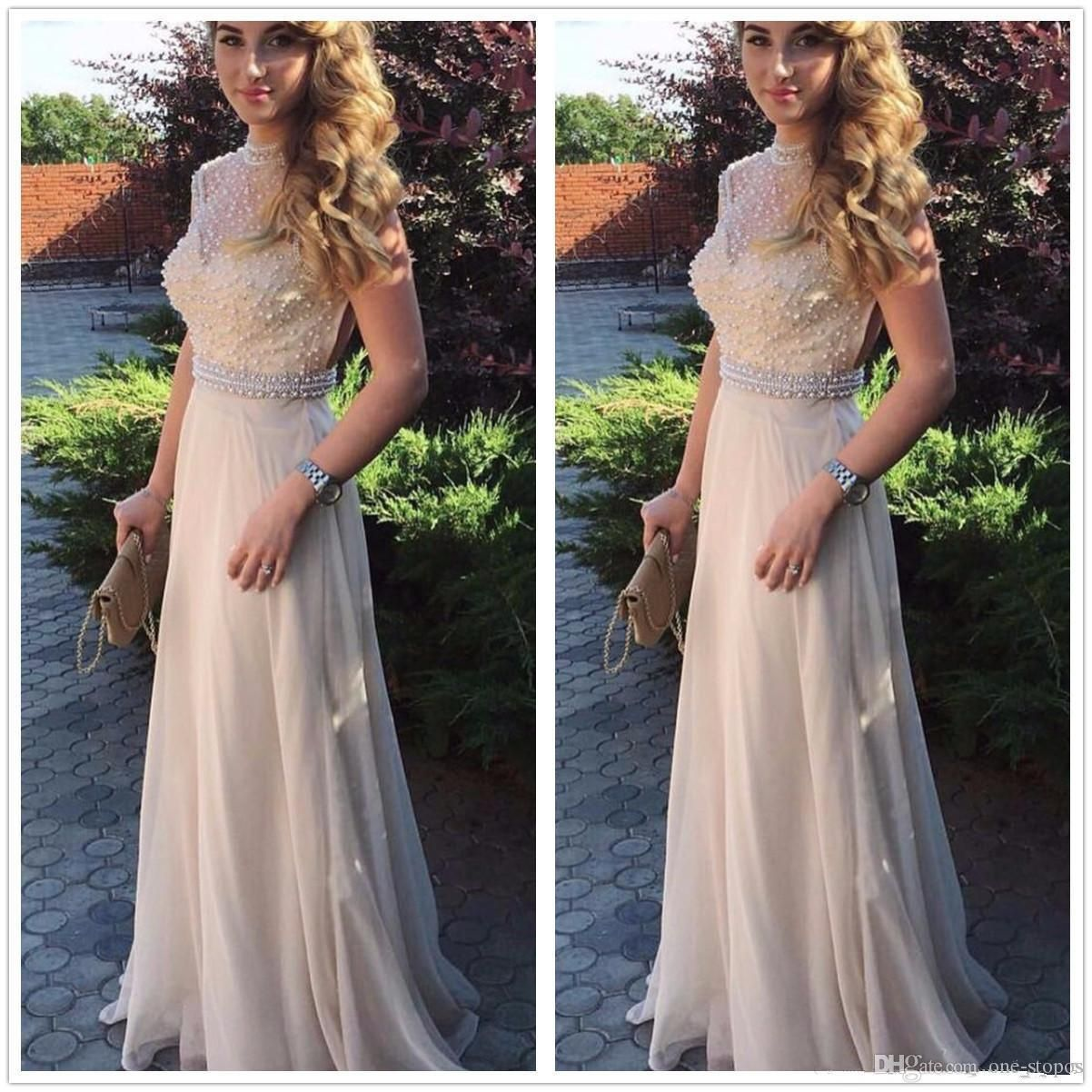 Awesome awesome sexy chiffon prom dress long evening party