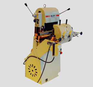 This grinding machine looks really interesting with all of the levers and the yellow. Something like this would be really good for polishing and fixing up abrasive belts. It seems like a good idea to get for anyone who deals with equipment like these.