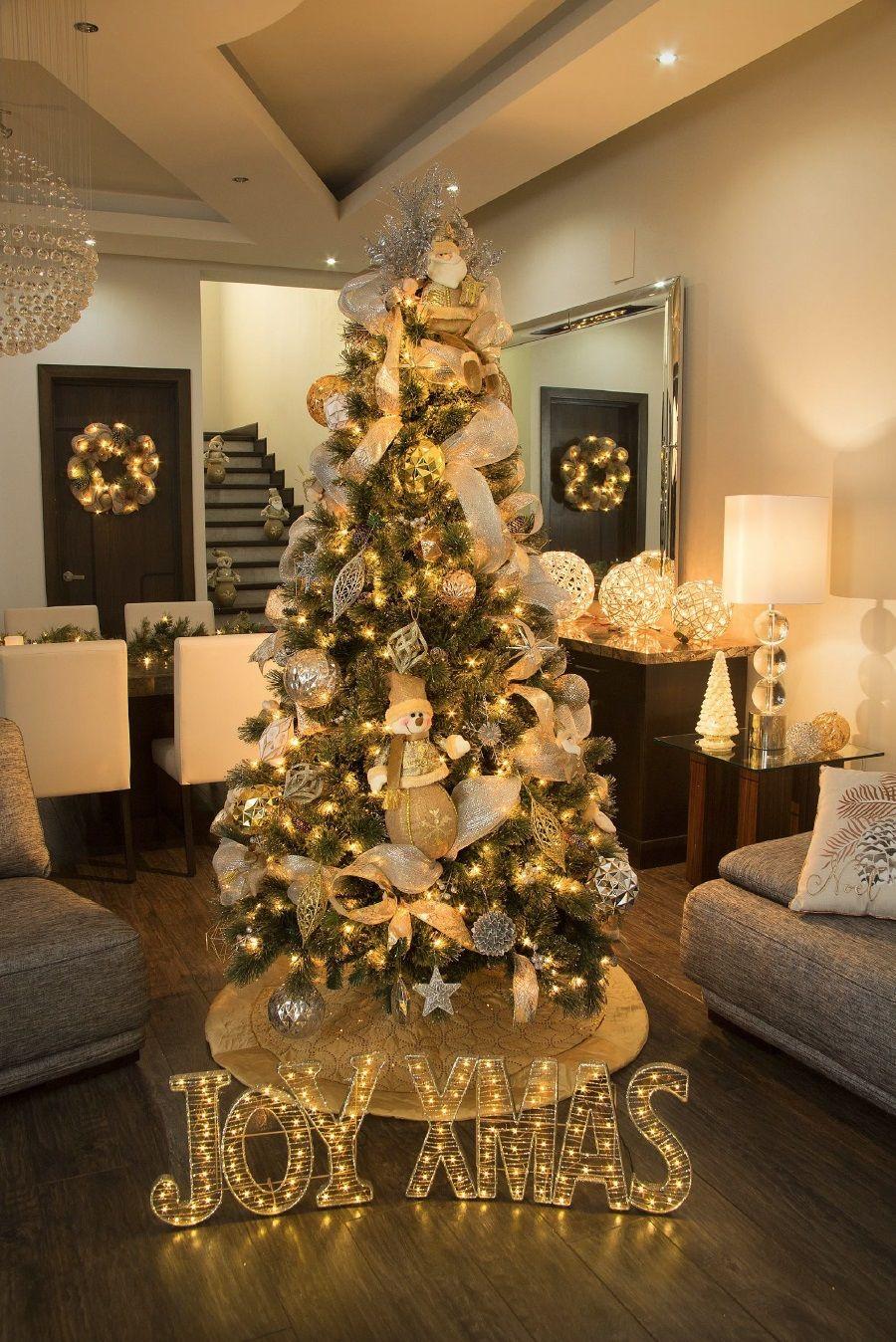 Tendencias para decorar en navidad 2017 2018 - Como se decora un arbol de navidad ...
