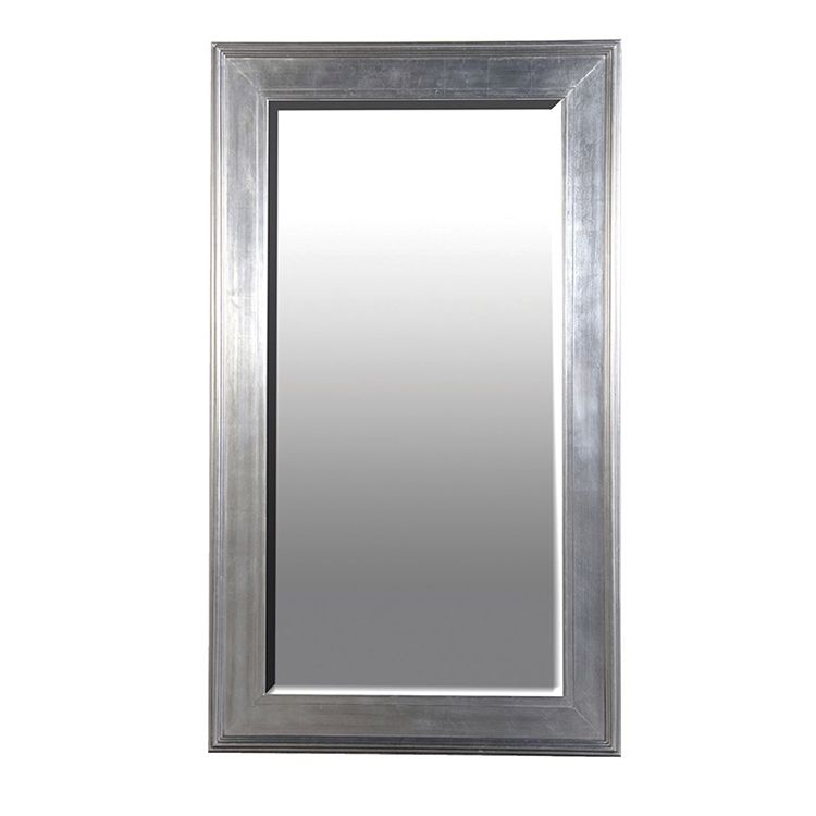 Extra Large Silver Frame Mirror 125 X 215 Cm Silver Framed Mirror Black Mirror Frame Mirror