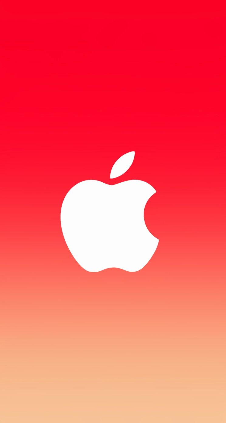 wallpapers for > red apple logo wallpaper iphone 4 | apple'tite