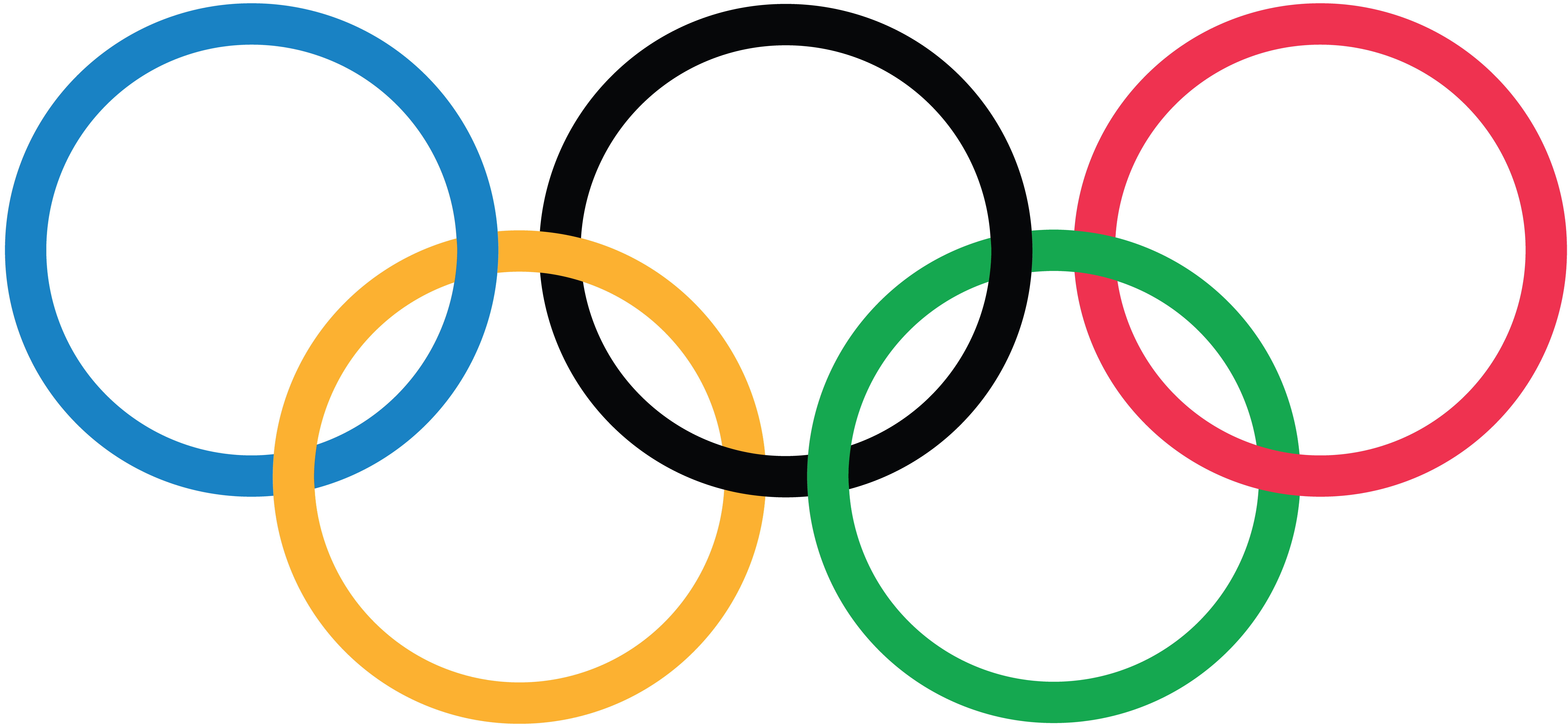 Olympic Games Rings Official Transparent Logo