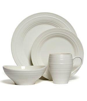 Mikasa Swirl White Dinnerware | Dillard\u0027s Mobile  sc 1 st  Pinterest & Mikasa Swirl White Dinnerware | Dillard\u0027s Mobile | China ...