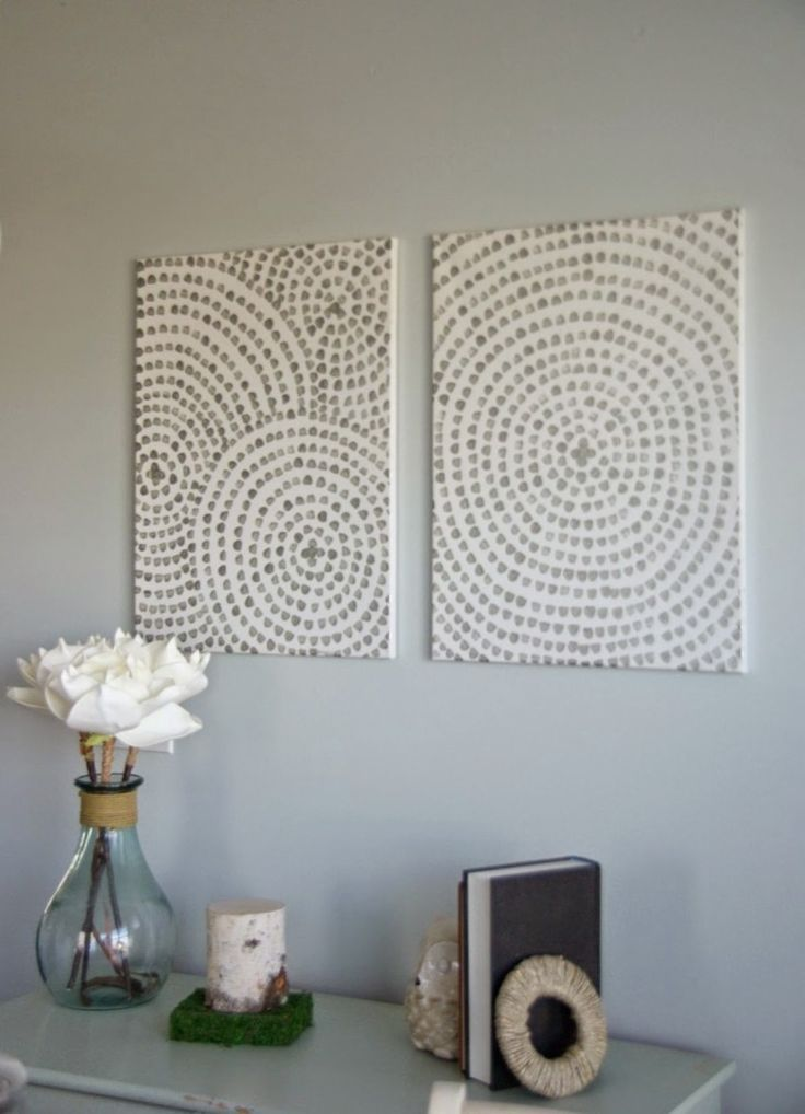 Spiral wall art video tutorial & giveaway • Our Ho