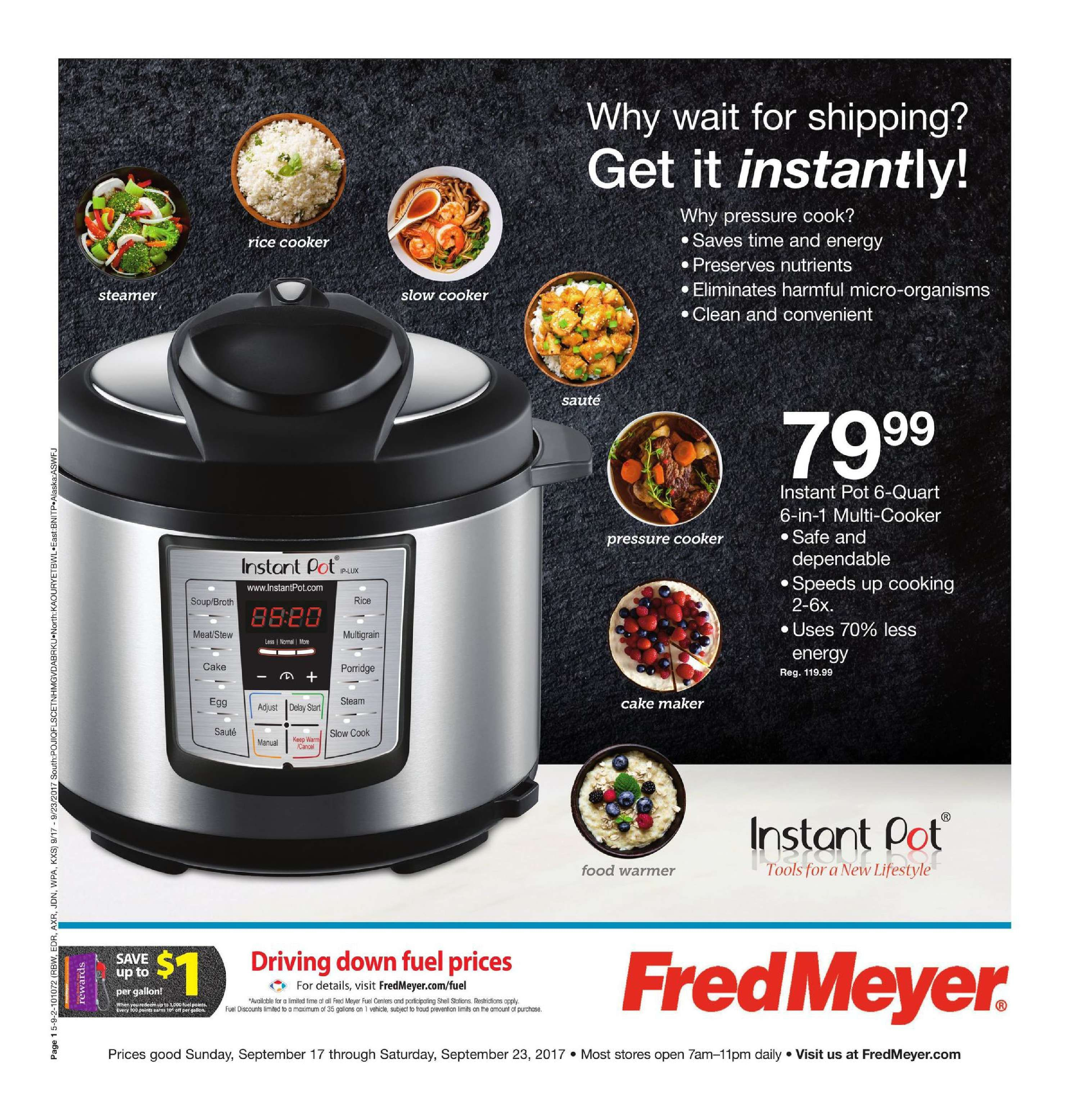 Fred Meyer Merchandise Ad September 17 - 23 , 2017 - http://www ...