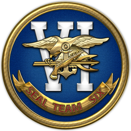 c8d33bf7b92 Military Insignia 3D by C.7 Design  U.S. Navy SEALs  Original patches of  the active duty Navy SEAL Teams Seal Team Six