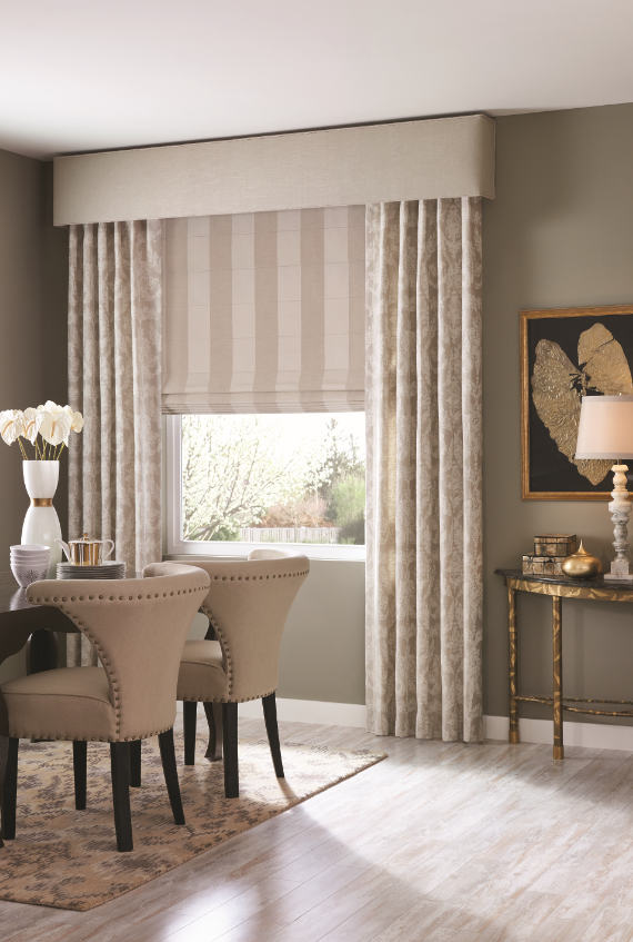Draperies Create Beautiful Everyday Environments And Allow You To Color Your World In A Very P Window Treatments Living Room Curtains Living Room Home Curtains