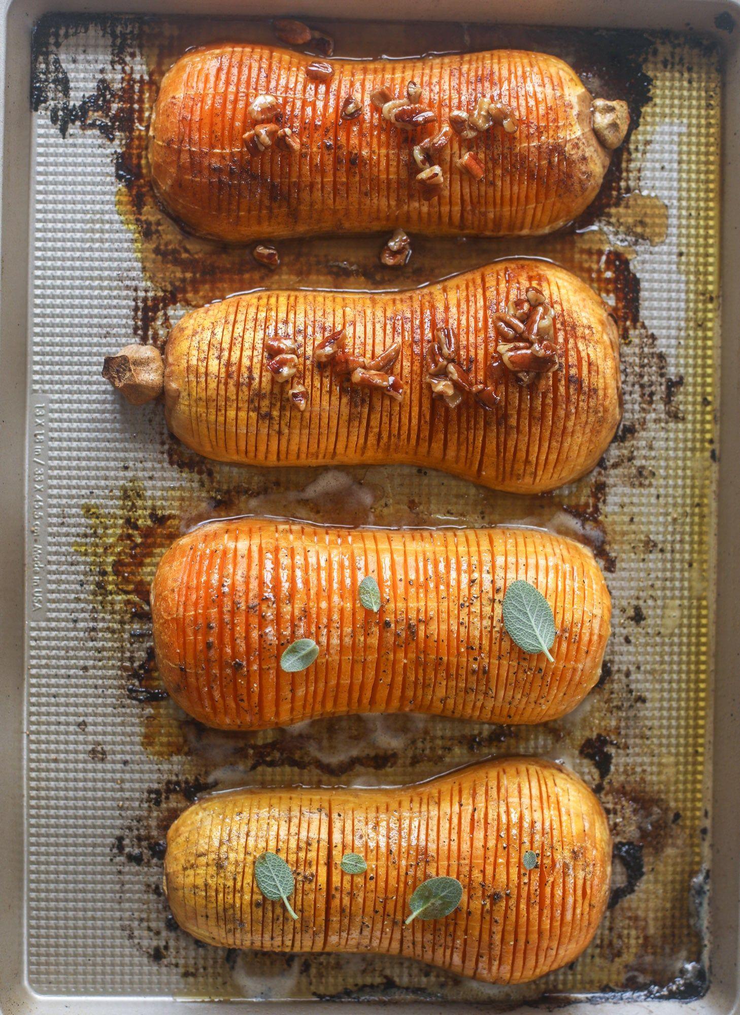 Hasselback Butternut Squash, Two Ways Recipe Best
