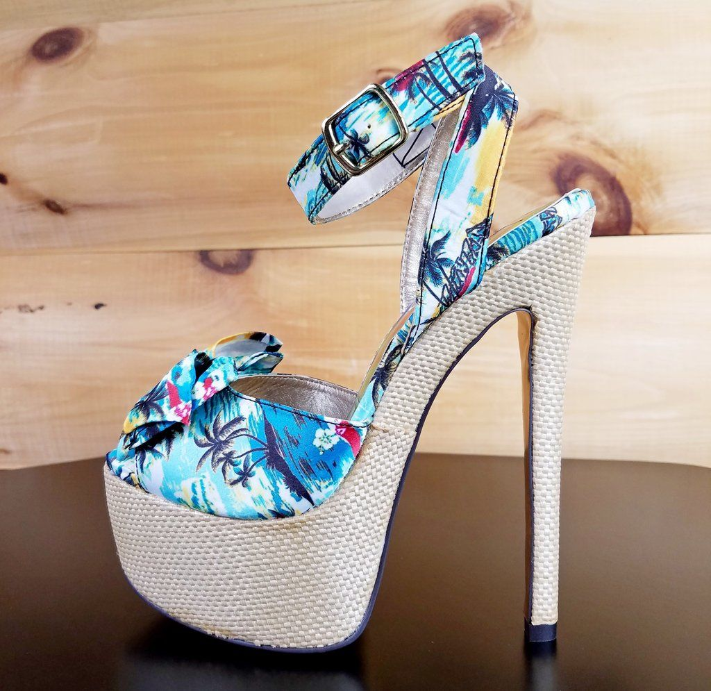 Beautiful high heels · Luichiny Love Potion Tropical Blue