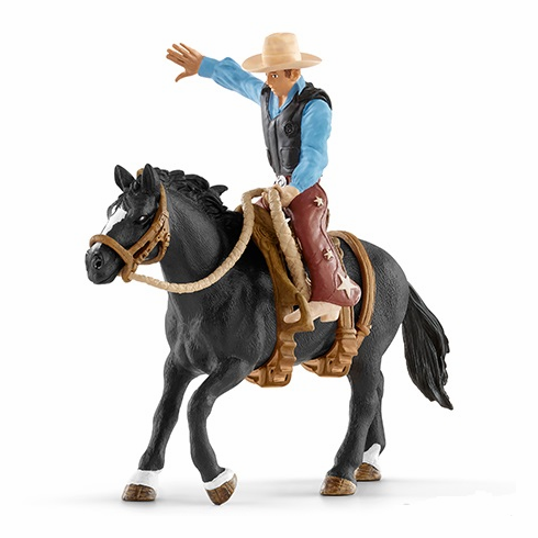 Schleich Saddle Bronc Riding W Cowboy Bull Riding Schleich Horses Stable Animals