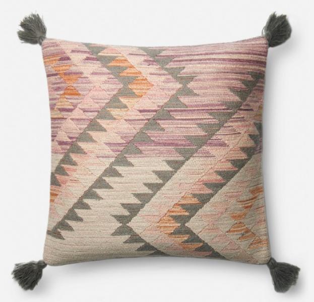 P0645 Pillow By Loloi Chevron Throw Pillows Throw Pillows