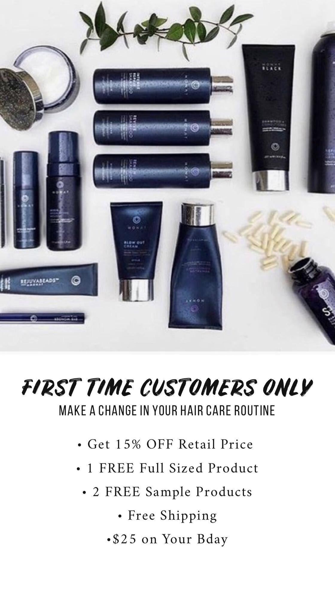 Hair care, haircare, monat, monat VIP | Monat Business in