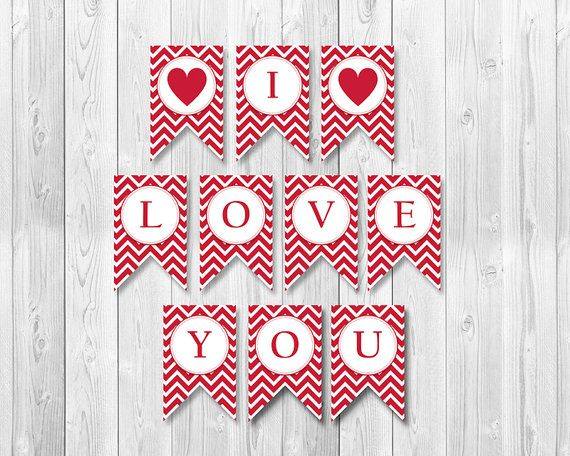 INSTANT DOWNLOAD  Red Chevron Printable I by YourPrintableShop