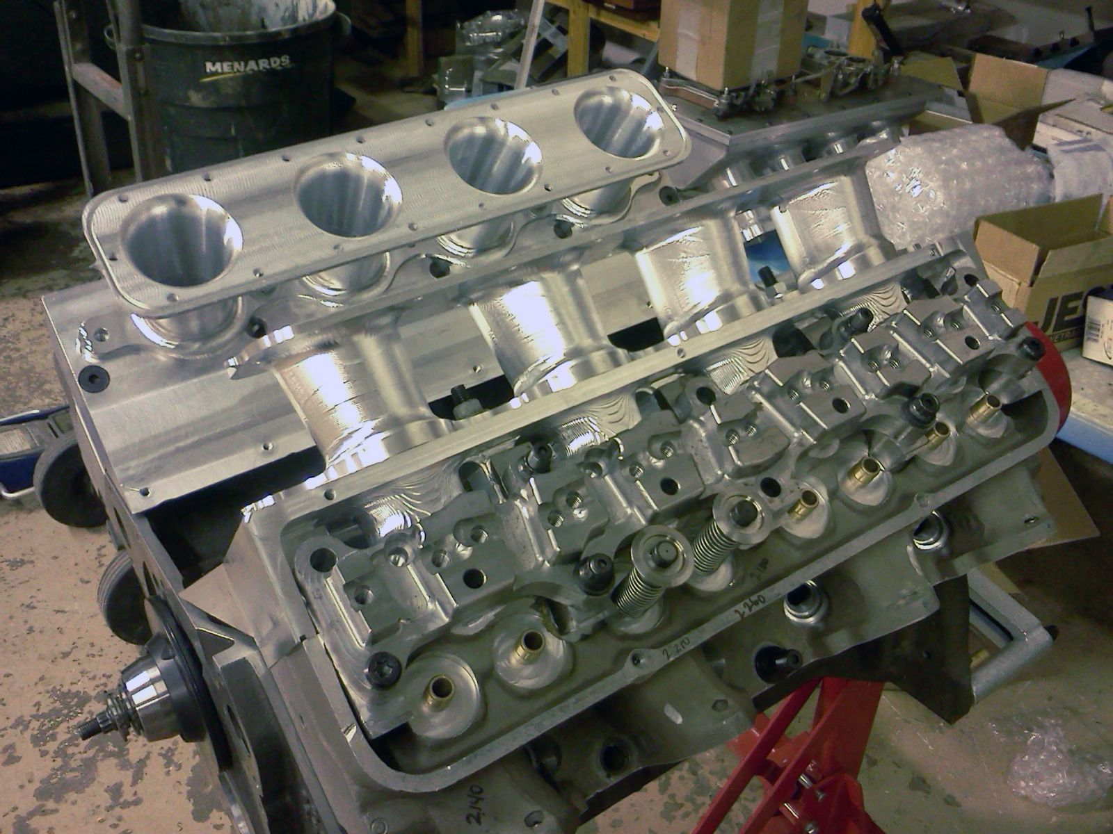 This Is A Custom Designed Ford 427 Drag Racing Engine I Machined