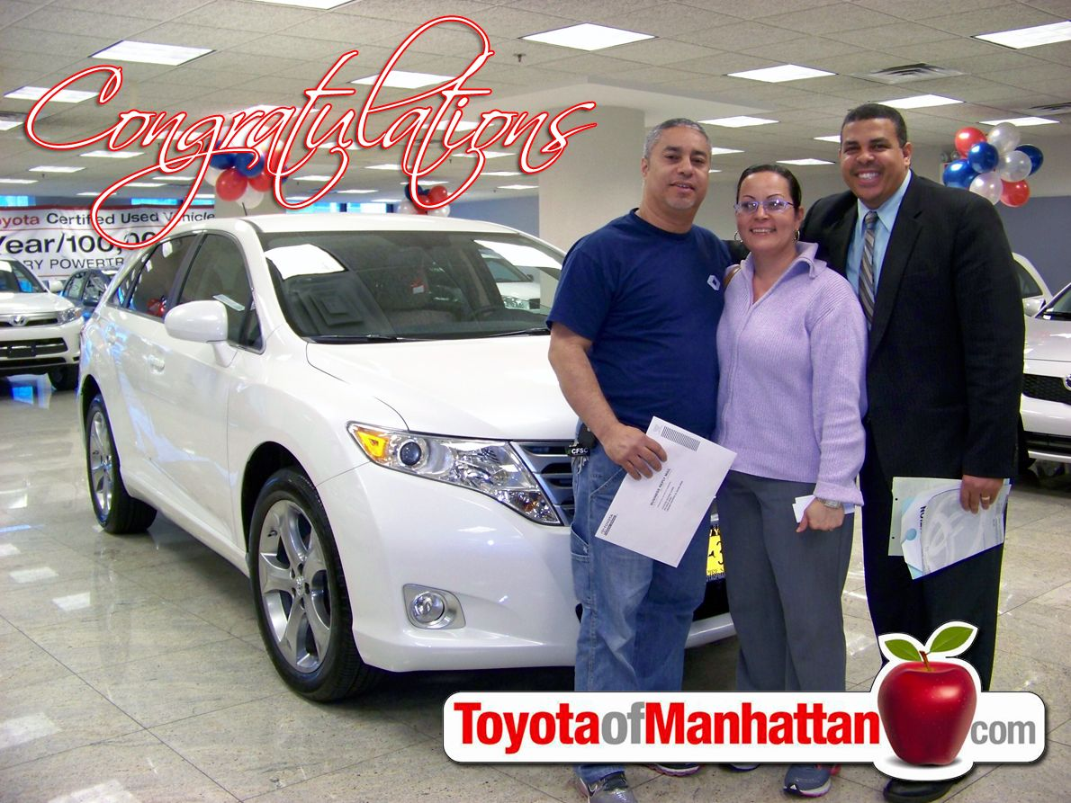 Toyota Of Manhattan >> Franklin With Happy Toyota Of Manhattan Customers Luis And