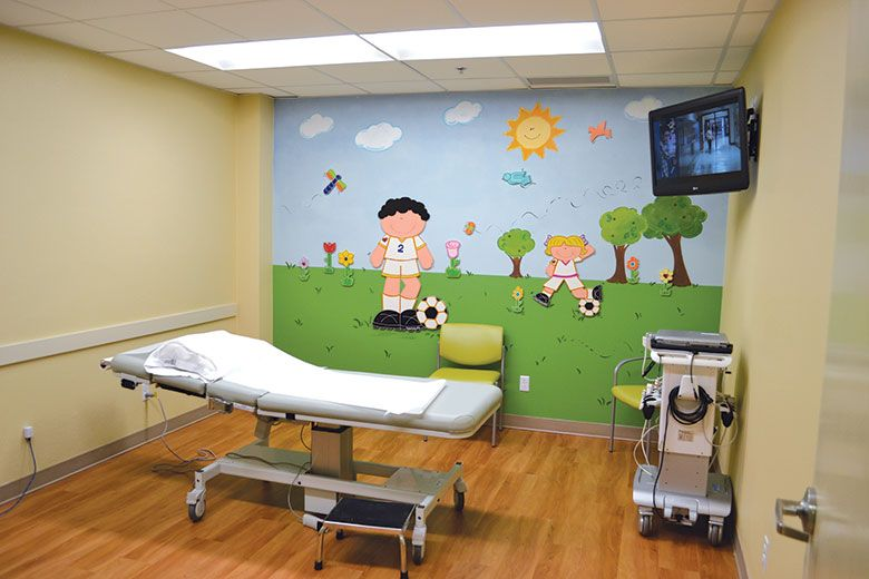 Paint Colors For Pediatric Examining Rooms Child Friendly Murals