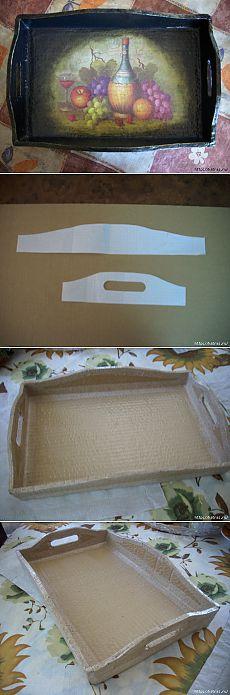 Поднос из картона