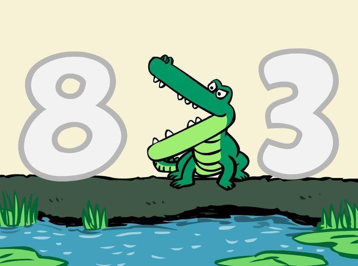Number Gators Greater Than Less Than Symbols Song Kindergarten