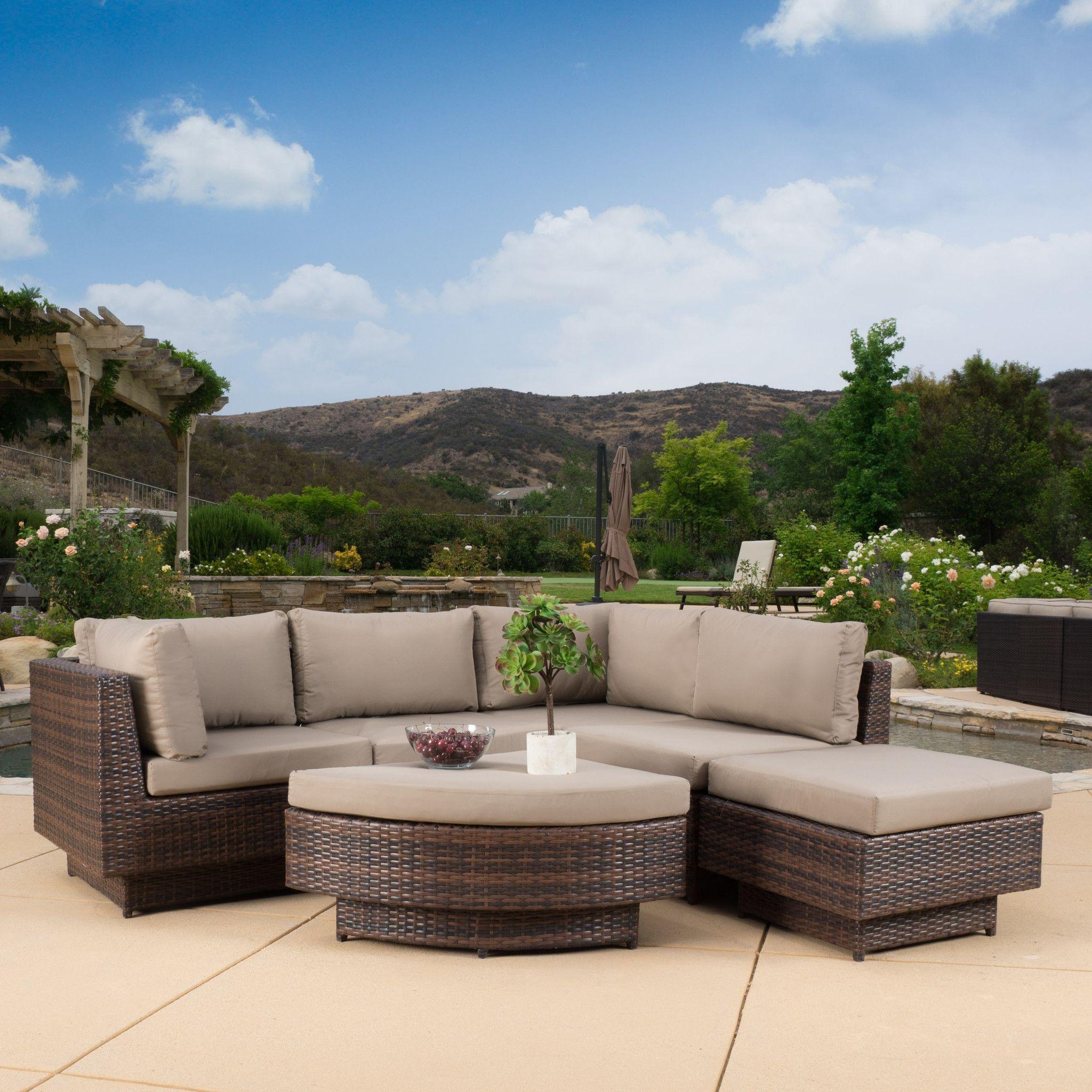 Brenan Outdoor 6pc Sofa Sectional
