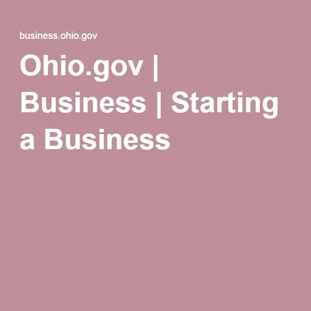 Starting A Business In Ohio Fundamentals Explained
