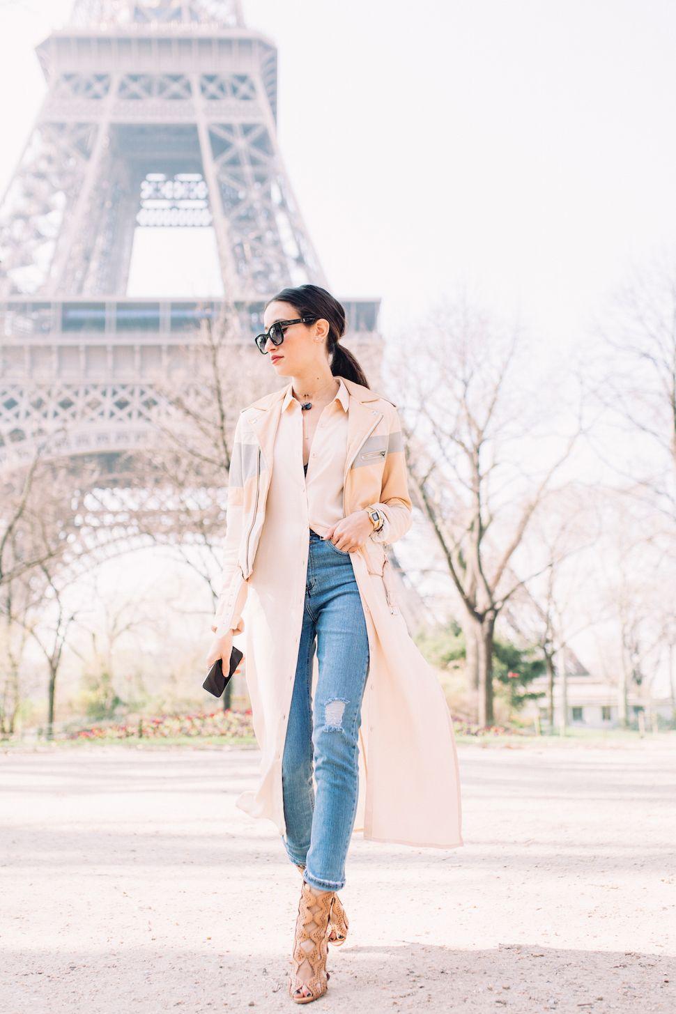 BACK IN PARIS