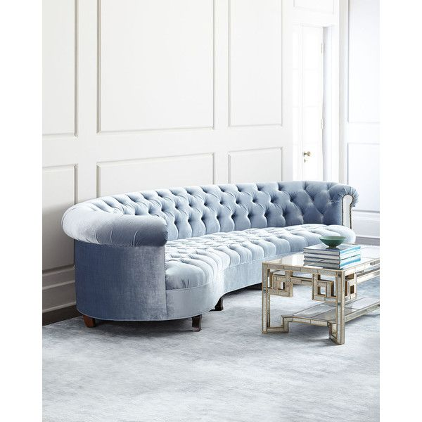 Haute House Rebecca Mirrored Sofa 60 470 Ars Liked On